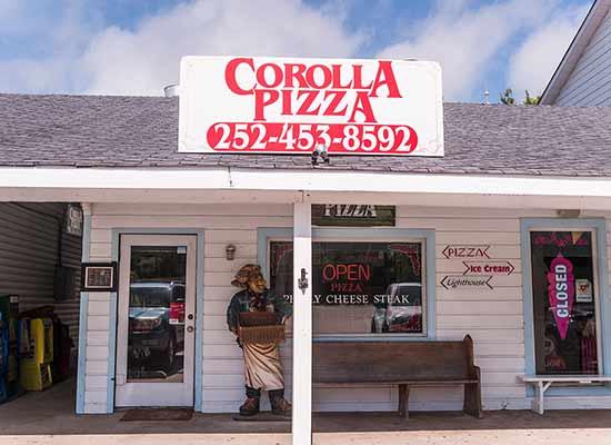 Corolla Pizza store