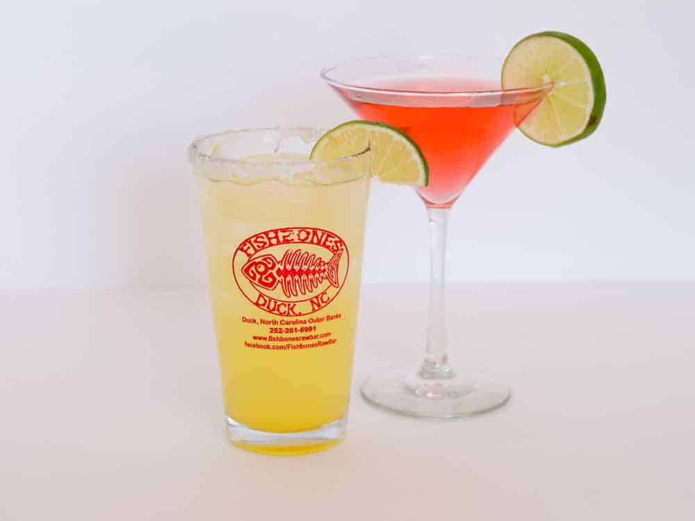 Fishbones colorful drinks