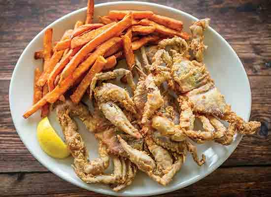 Lone Cedar Softshell Crabs