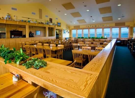 Lone Cedar Interior Dining Area