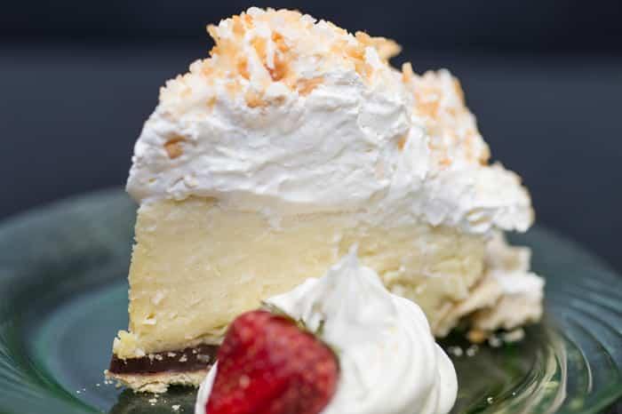 dessert at Owens' Restaurant