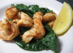 Pan-Seared Shrimp