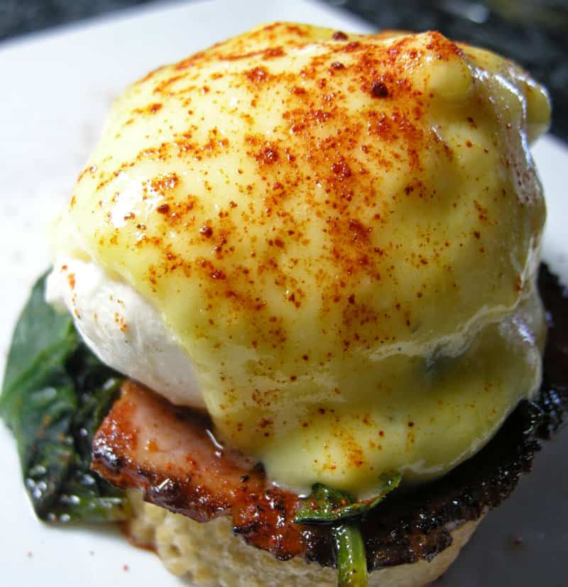 Blender Hollandaise Sauce - outer banks restaurants