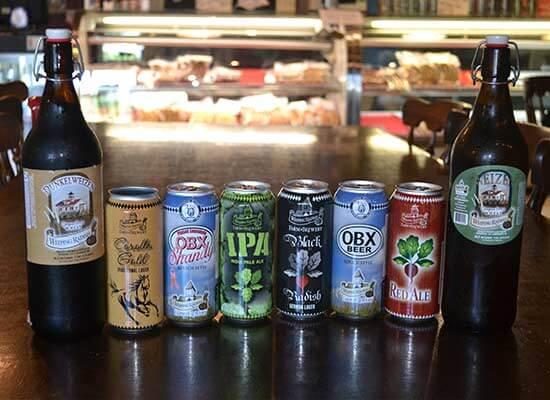 Weeping Radish Brewery beers