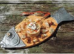 Rosie's Crabmeat Boule