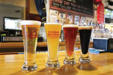 Local Outer Banks Beers And Wines Brewed And Bottled In