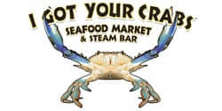 I got your crabs logo