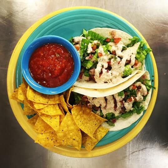 Sunset Grille - Fish Tacos