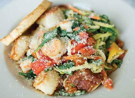 Lone Cedar Seafood Pasta