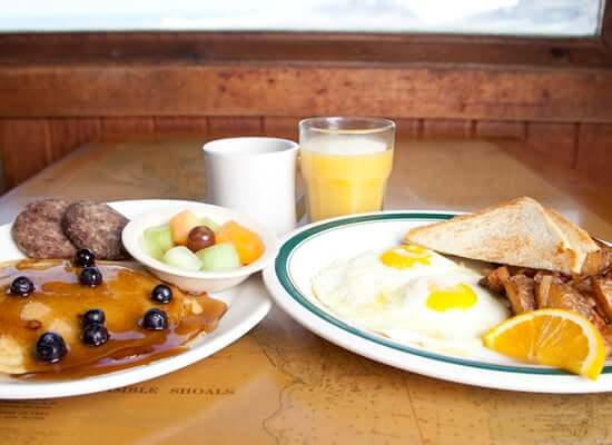 Nags Head Pier Breakfast