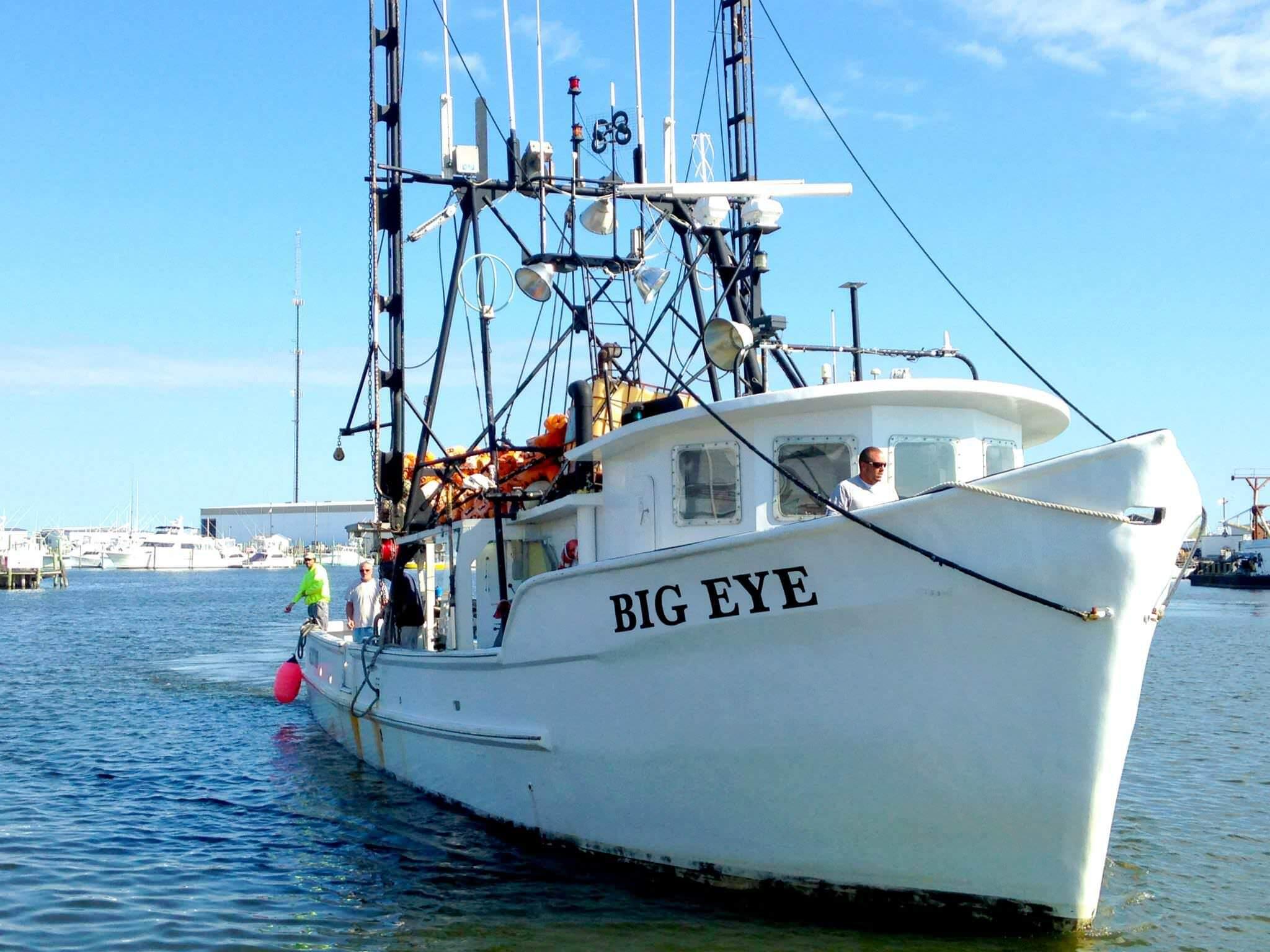 big eye boat