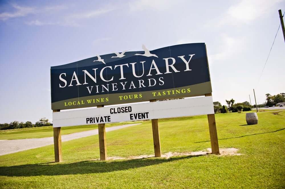 Sanctuary Vineyards NC winery