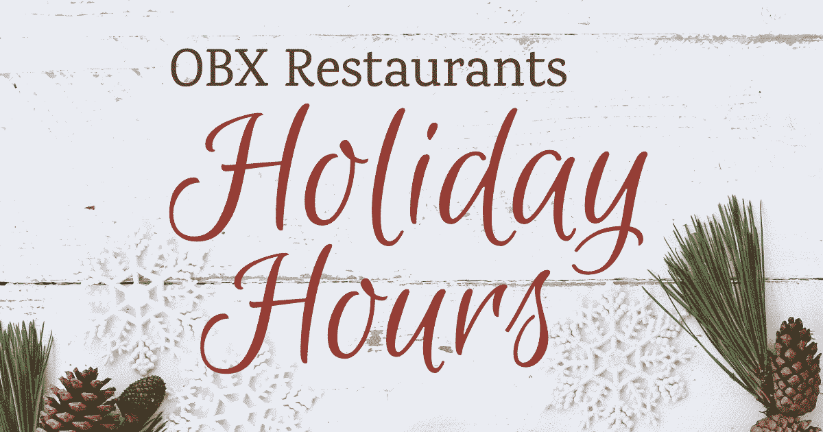 outer banks restaurants christmas