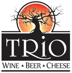 Trio Wine Beer Cheese Logo