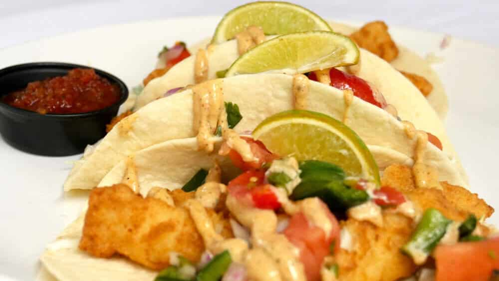 Mulligans Raw Bar Fish Taco