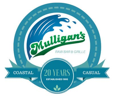 Mulligans Raw Bar & Grille Logo