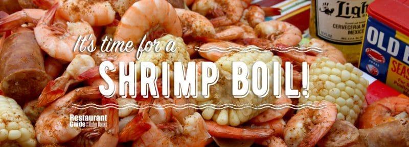 outer banks shrimp boils