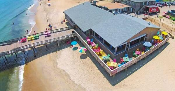 Nags Head Pier waterfront
