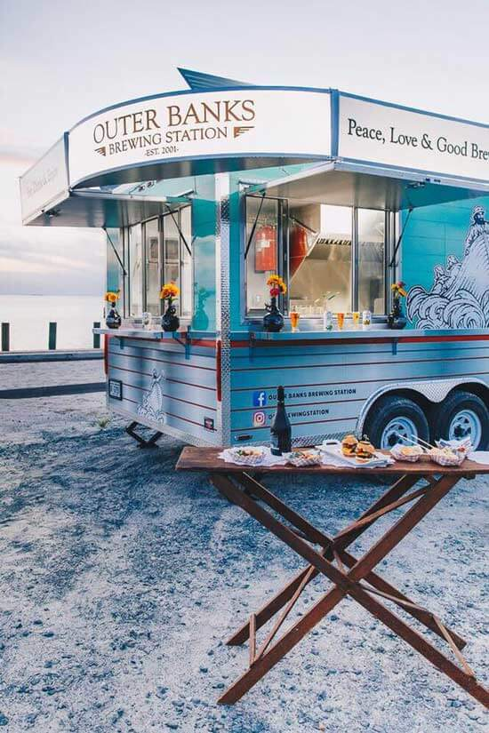 outer banks catering food truck