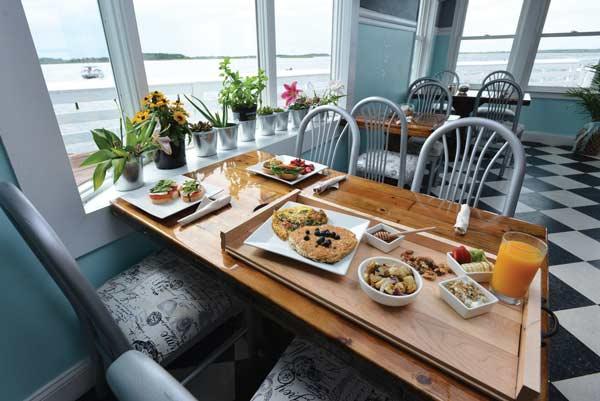 freshfit waterfront cafe