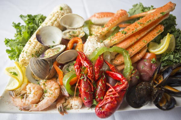 seafood platter outer banks