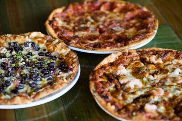 black pelican pizzas