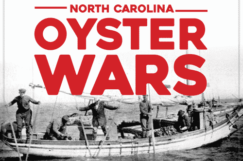 north carolina oyster history