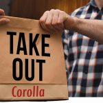 take out corolla