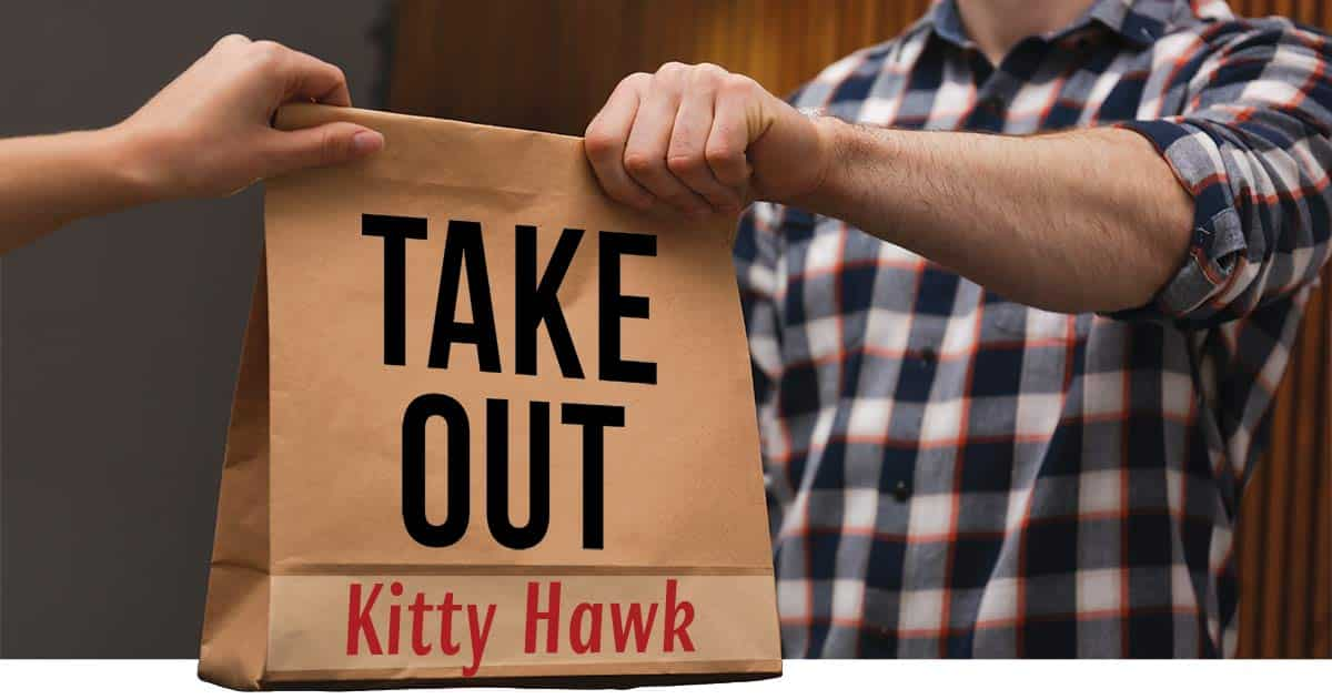take out kitty hawk