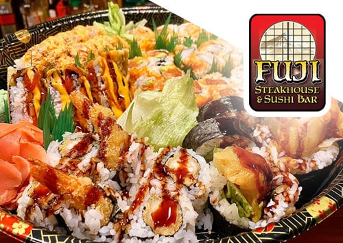 Outer Banks Fuji Steakhouse sushi