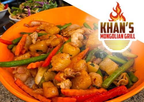 Khans mongolian grill