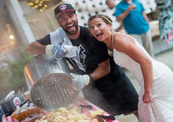 OBX Boil Company Wedding Cater