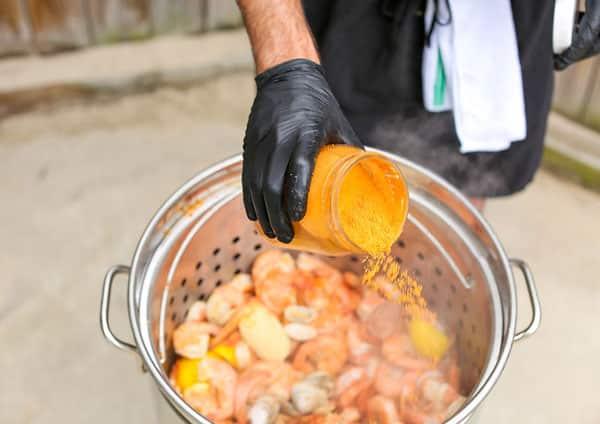 Outer Banks Boil Company Boil Shrimp