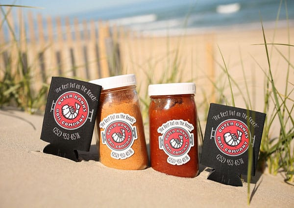 Outer Banks Boil Company Beach