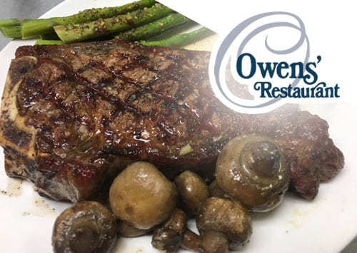 outer banks Owens restaurant